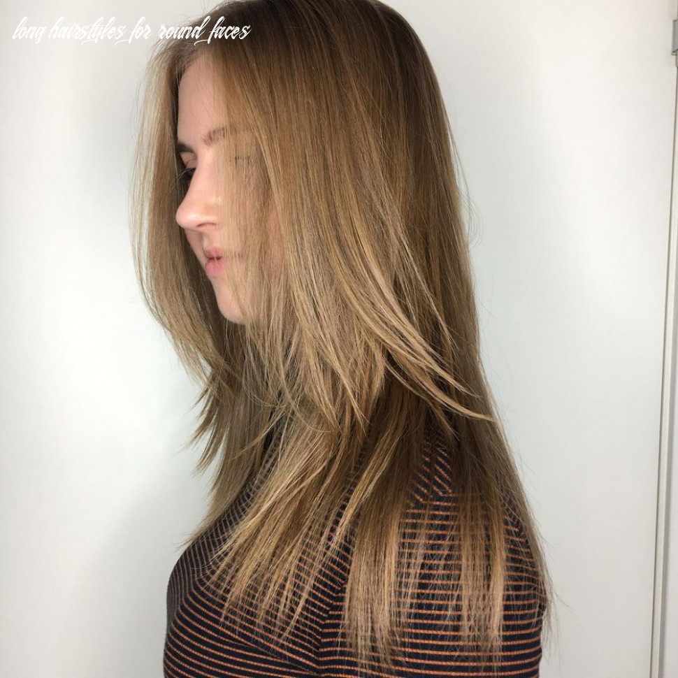 10 most flattering long hairstyles for round faces (10 trends) long hairstyles for round faces
