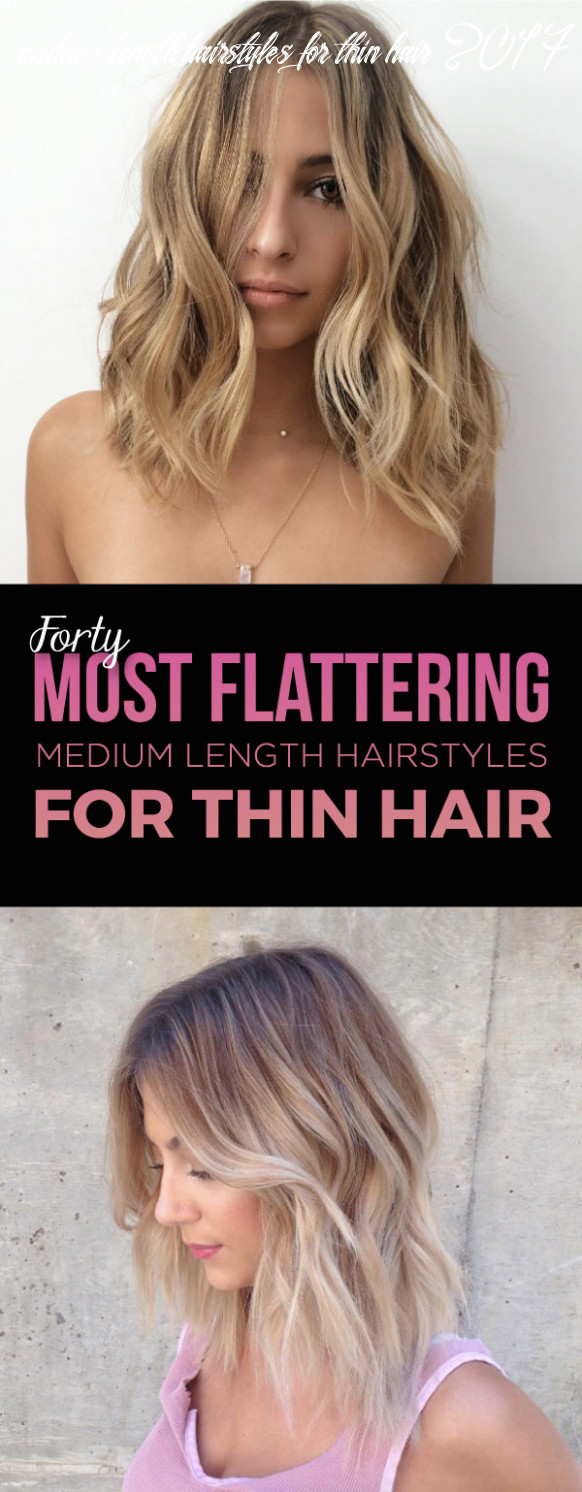 10 most flattering medium length hairstyles for thin hair style