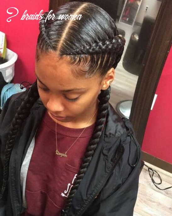 10 Natural and Beautiful Goddess Braids to Bless Ethnic Hair in 10