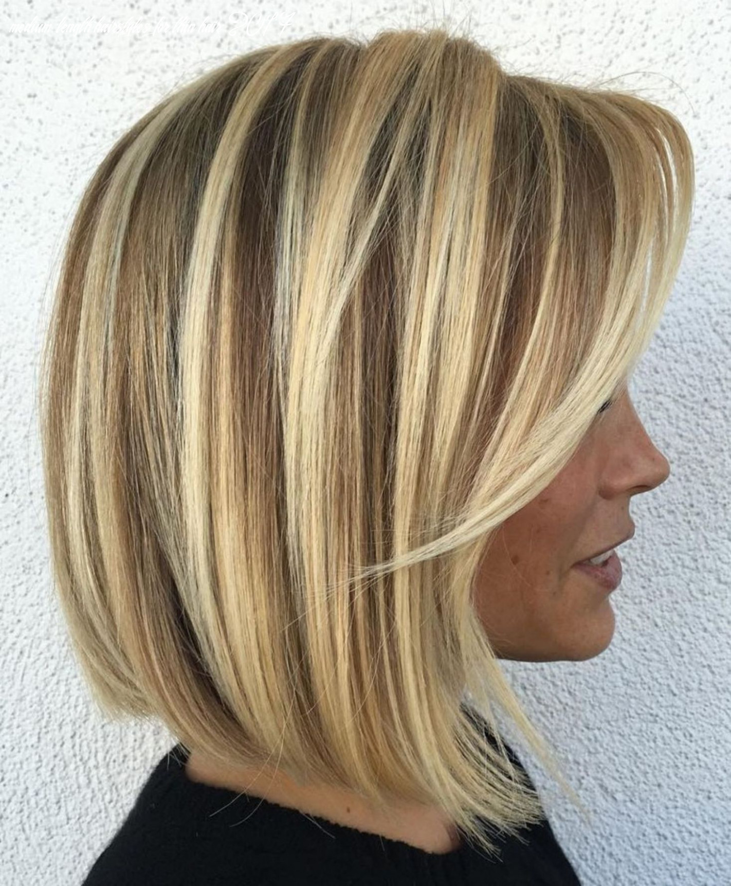 10 perfect medium length hairstyles for thin hair in 10