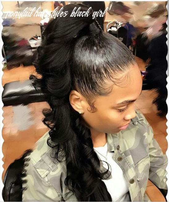 10 ponytail hairstyles for black women eve steps | black ponytail
