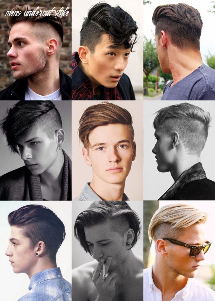 10 popular undercut hairstyles for men: the disconnect | undercut