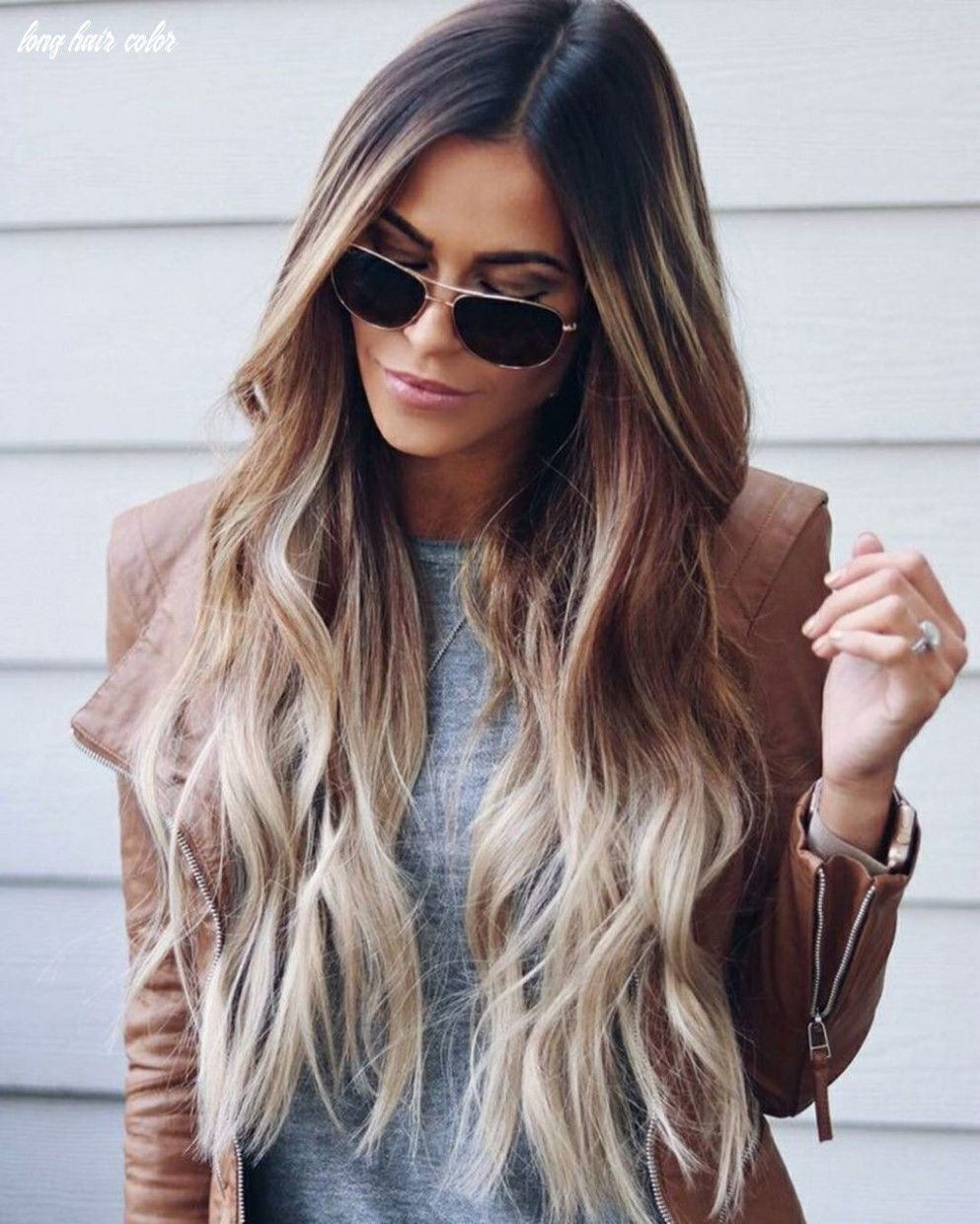 10 pretty long hair with ombre hair color ideas you have to see