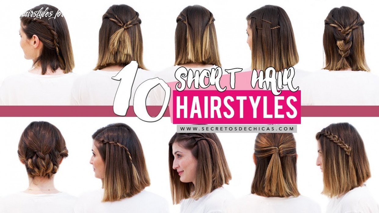 10 Quick and easy hairstyles for short hair | Patry Jordan