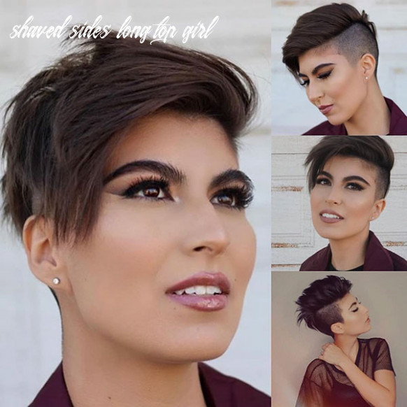 10+ Shaved Sides Haircut Female Ideas in 10