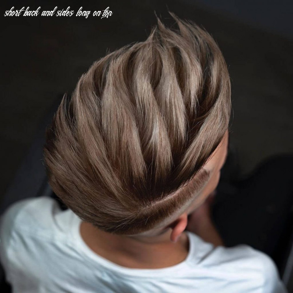 10 short on sides long on top haircuts for men | man haircuts short back and sides long on top