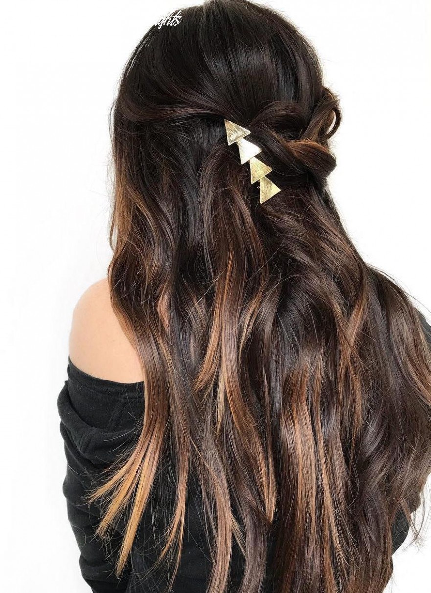 10 Stunning Long Dark Brown Hair Cuts and Styles
