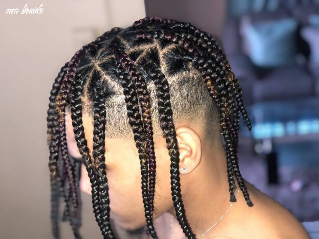 10+ Stylish Box Braids for Men | Man Haircuts