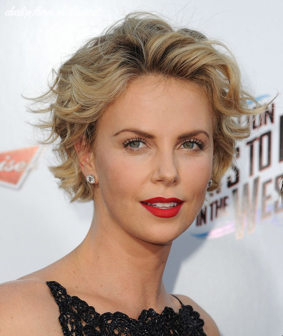 10 times charlize theron inspired us to cut our hair short