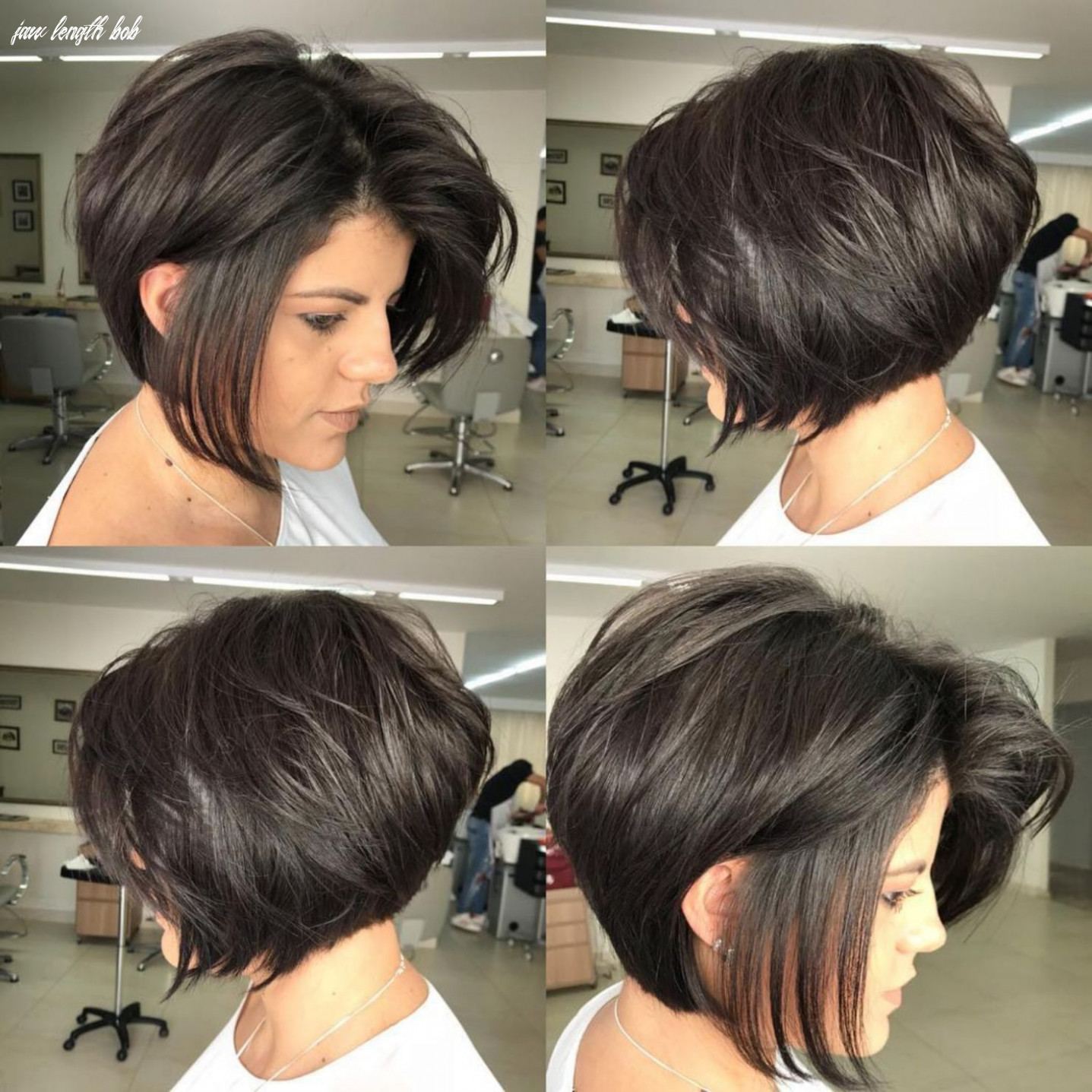 10 trendy inverted bob haircuts | haircut for thick hair, inverted
