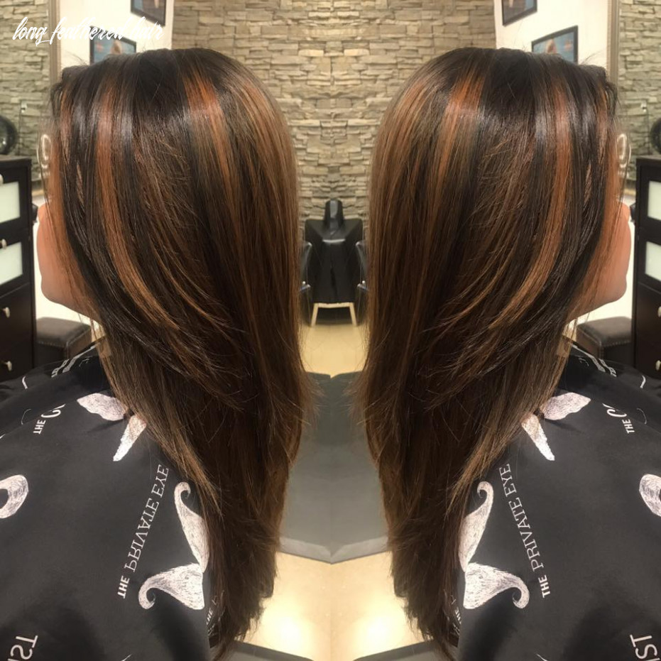 10 truly amazing layered haircut ideas to add to your hair goals long feathered hair