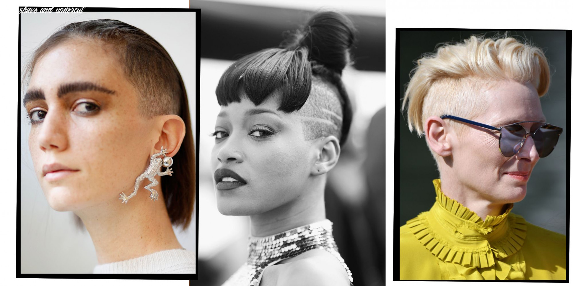 10 undercut hairstyles for women proving shaven heads are