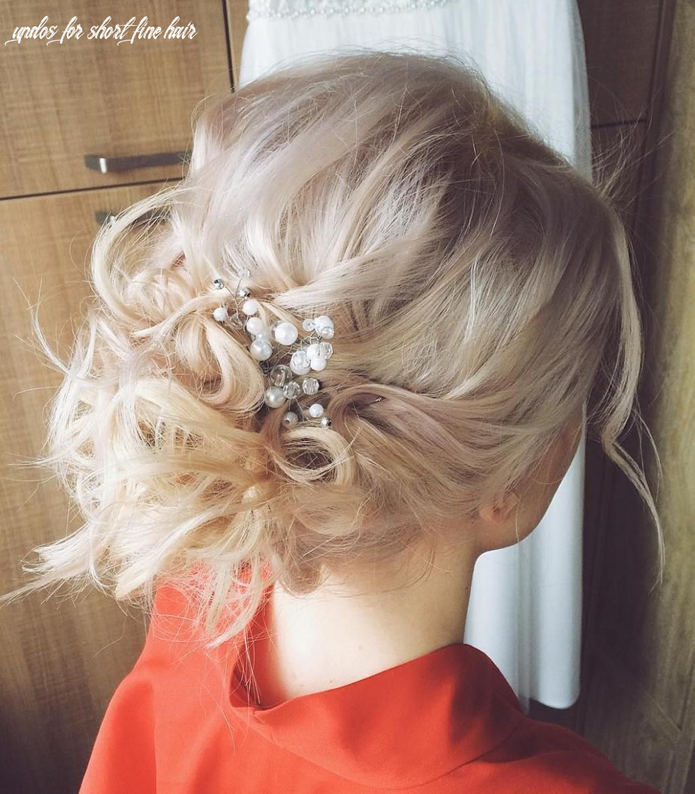 10 Updos for Thin Hair That Score Maximum Style Point | Hairstyles ...