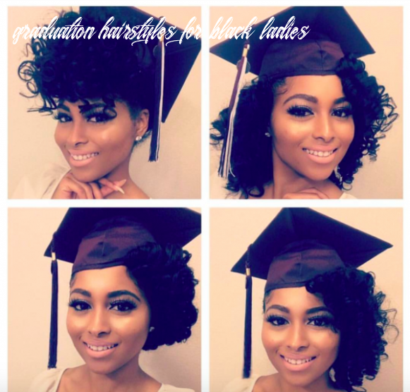 10 ways to slay your cap & gown | graduation hairstyles with cap