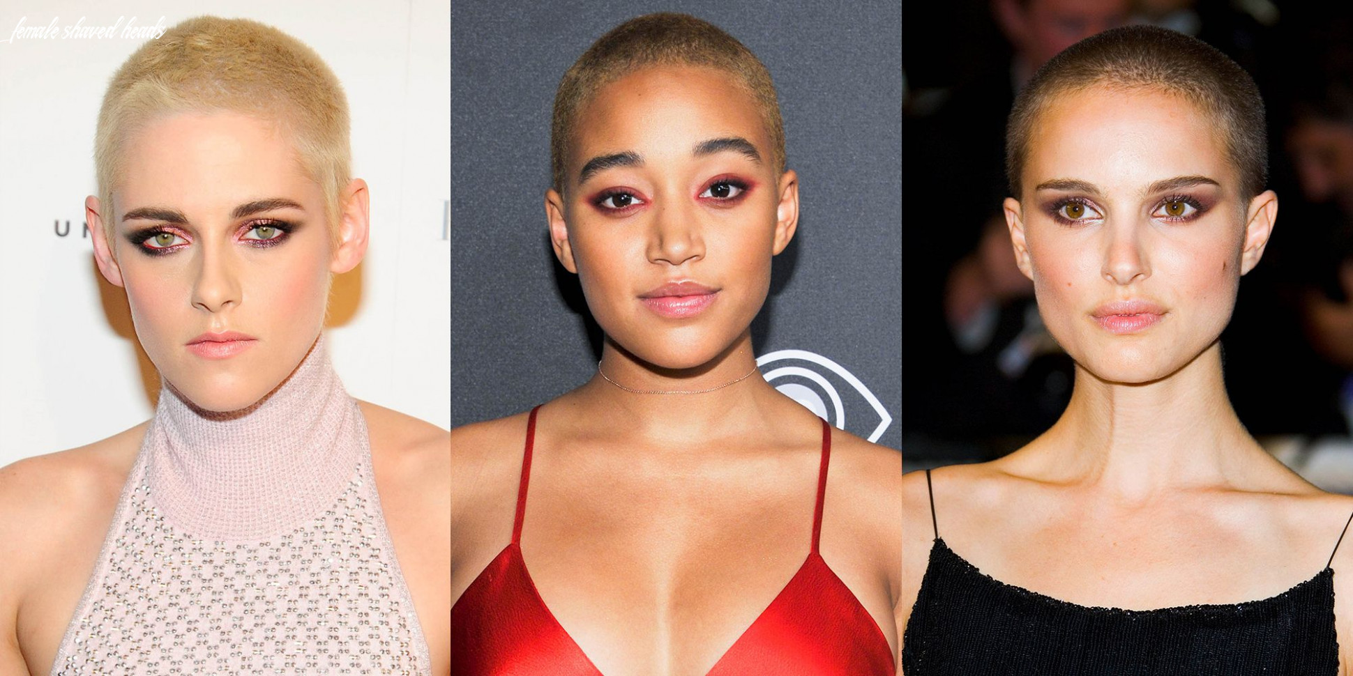 10 women with shaved heads female celebs with buzzcuts female shaved heads