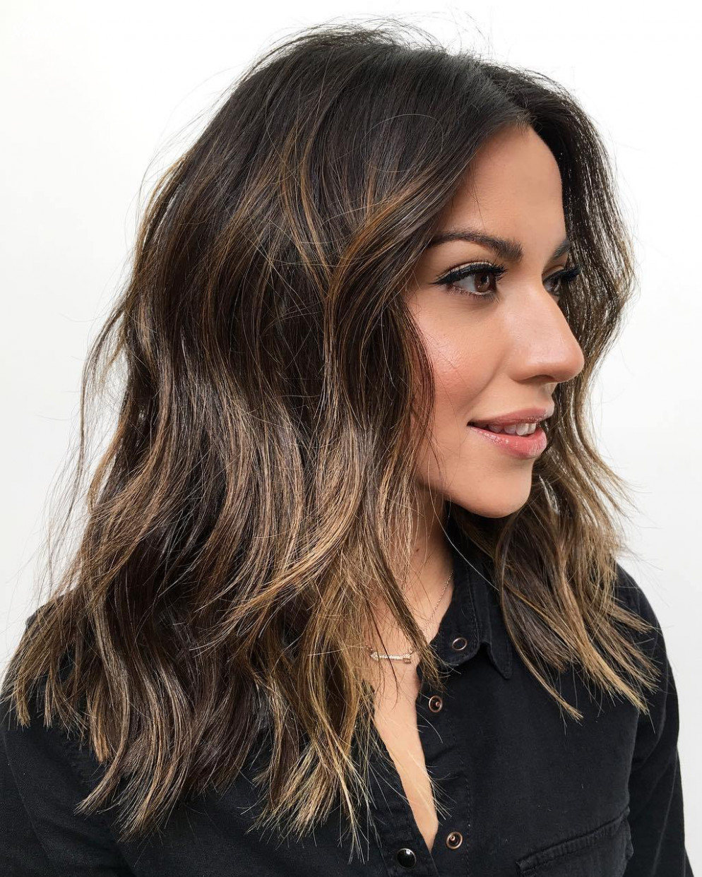11 best haircuts for thick hair in 11 hair adviser shoulder length hair thick