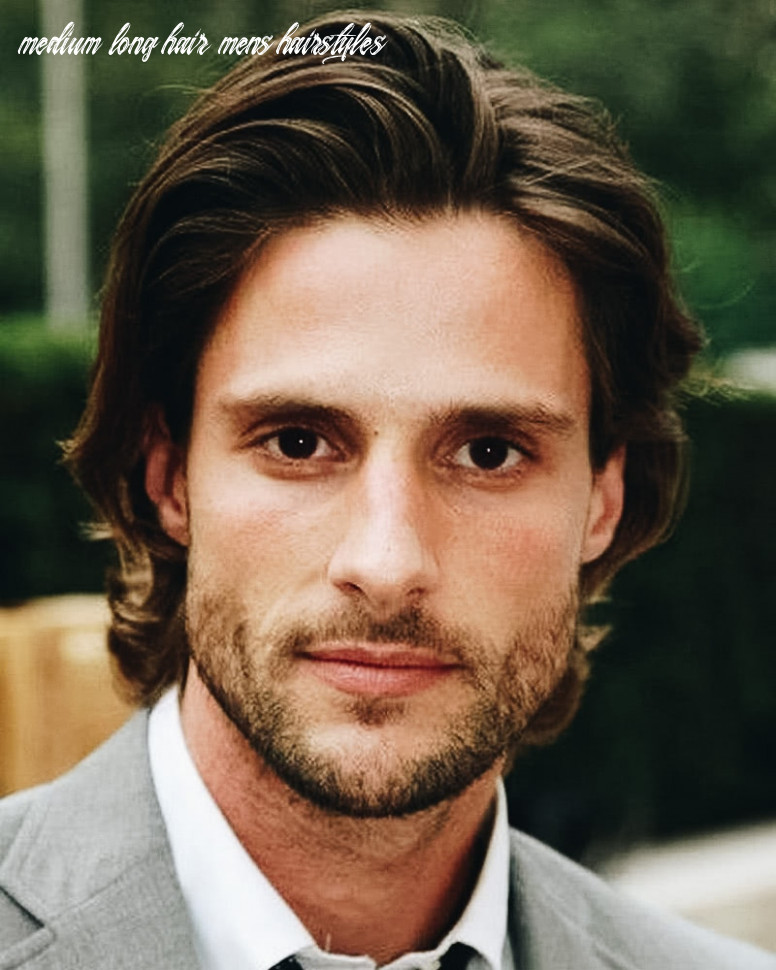 11 best medium length haircuts for men and how to style them medium long hair mens hairstyles