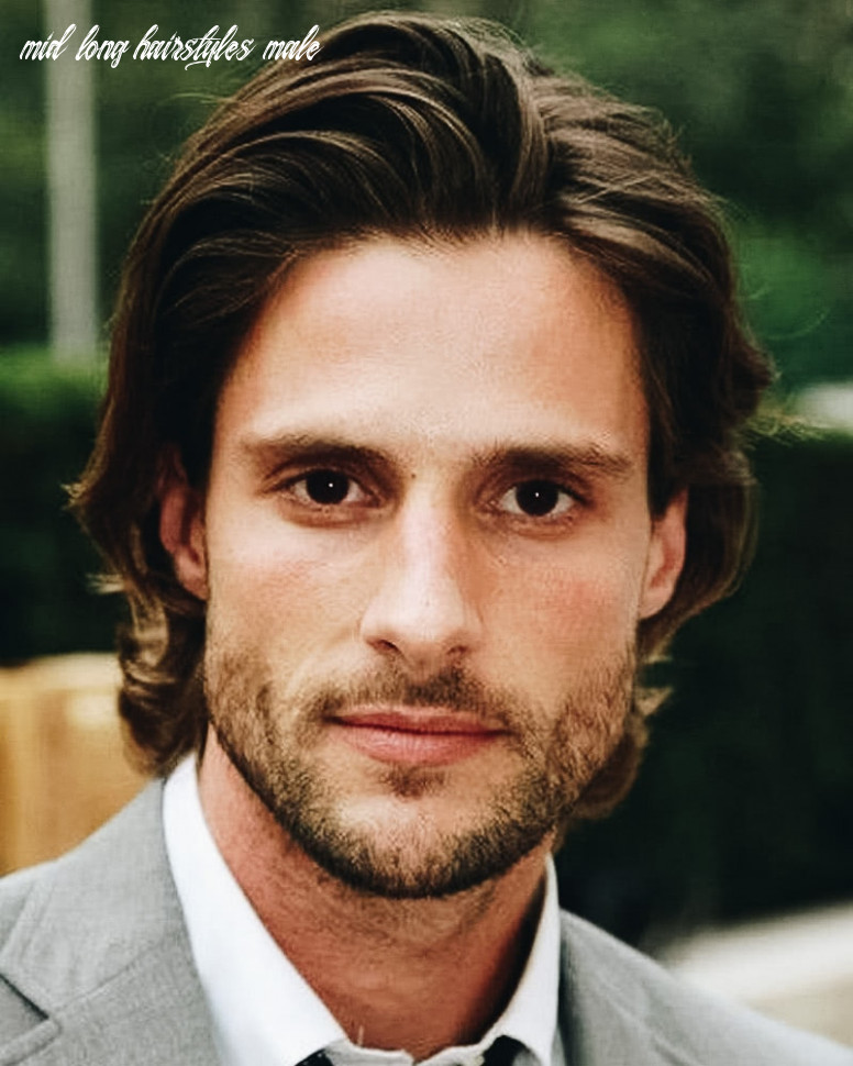 11 best medium length haircuts for men and how to style them mid long hairstyles male