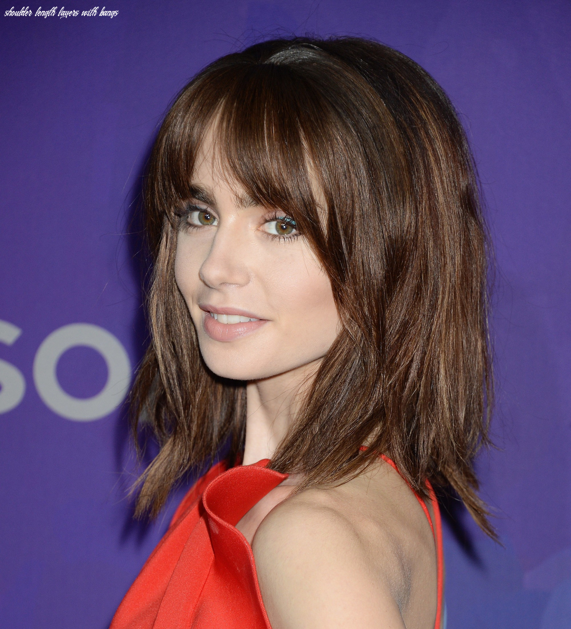 11 best shoulder length layered haircut photos 11 shoulder length layers with bangs