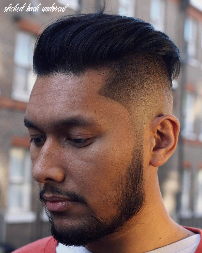 11 best slicked back undercuts for men (11 update) slicked back undercut
