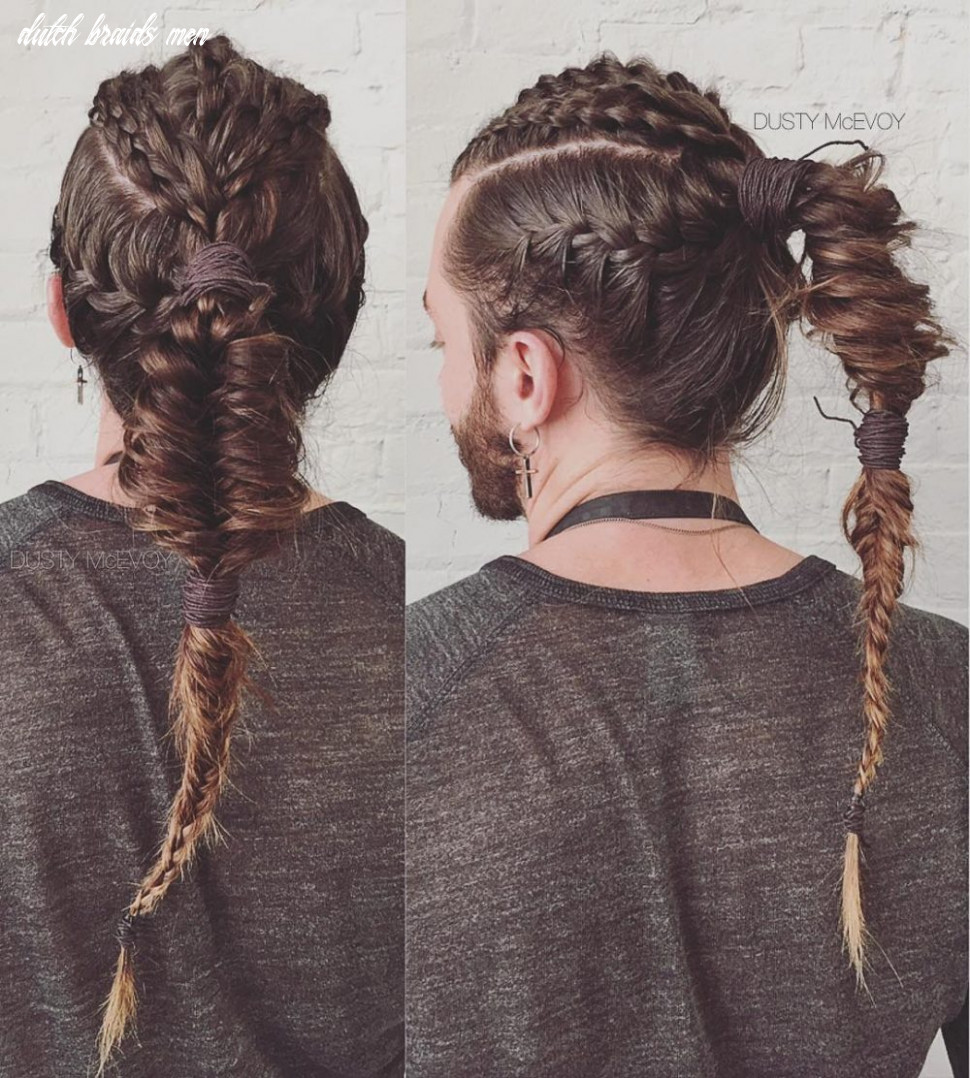 11 Braids for Men - + Cool Man Braid Hairstyles for Guys
