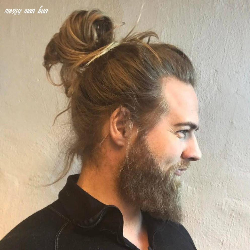 11 classy man buns you can style in minutes – hairstylecamp messy man bun