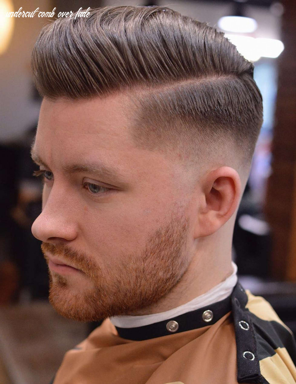 11 comb over haircuts: (not what you think!) undercut comb over fade
