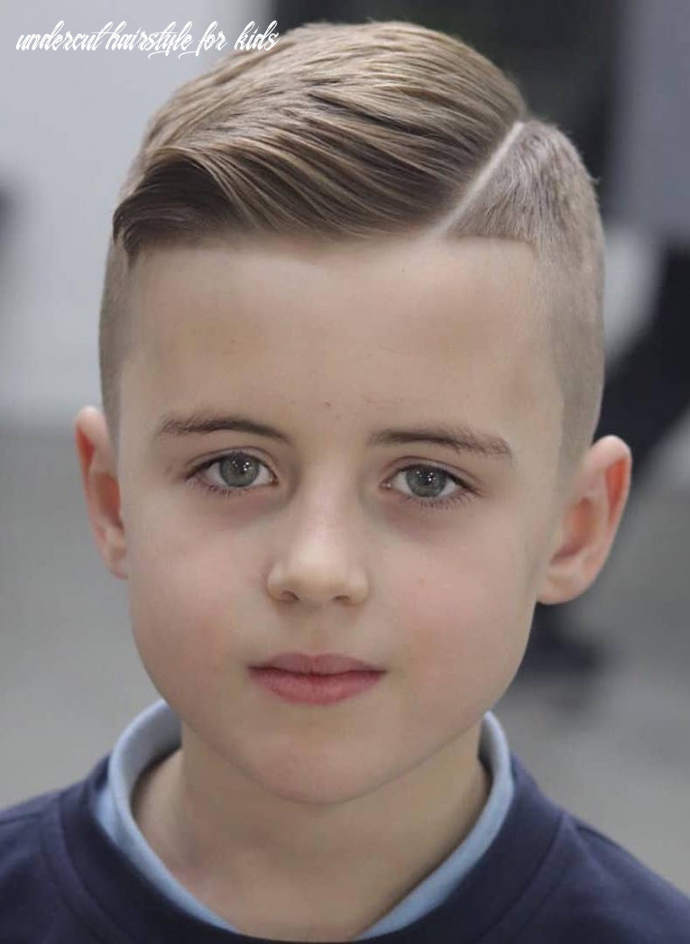 11 cool haircuts for kids for 11 undercut hairstyle for kids