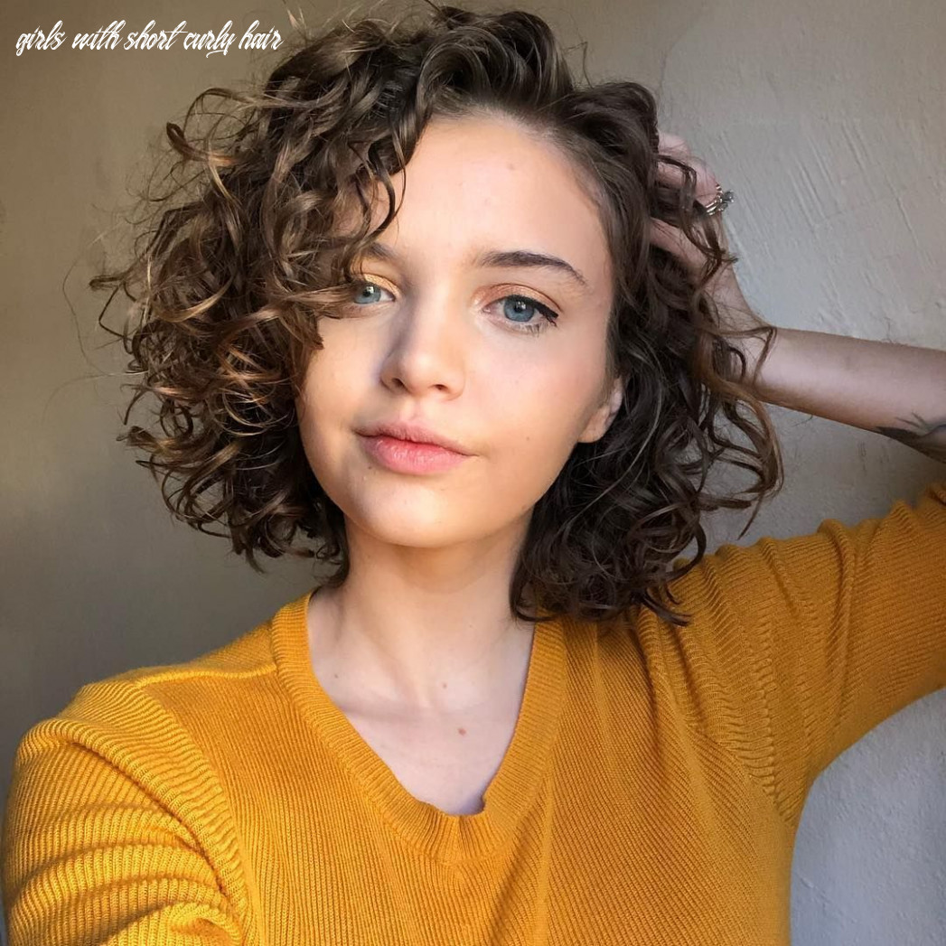 11 cute; easy hairstyles for girls with curly hair #curly #girls