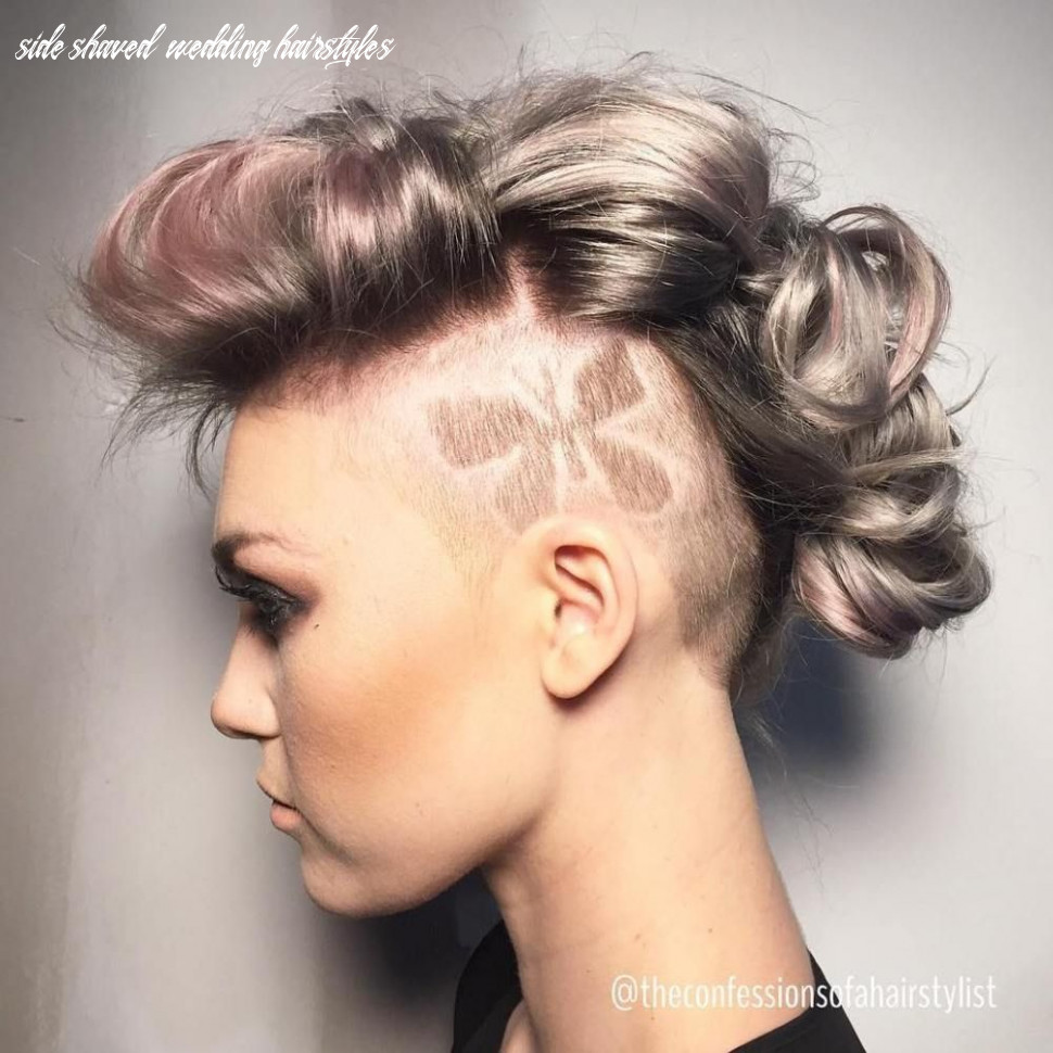 11 cute shaved hairstyles for women | long hair mohawk, shaved