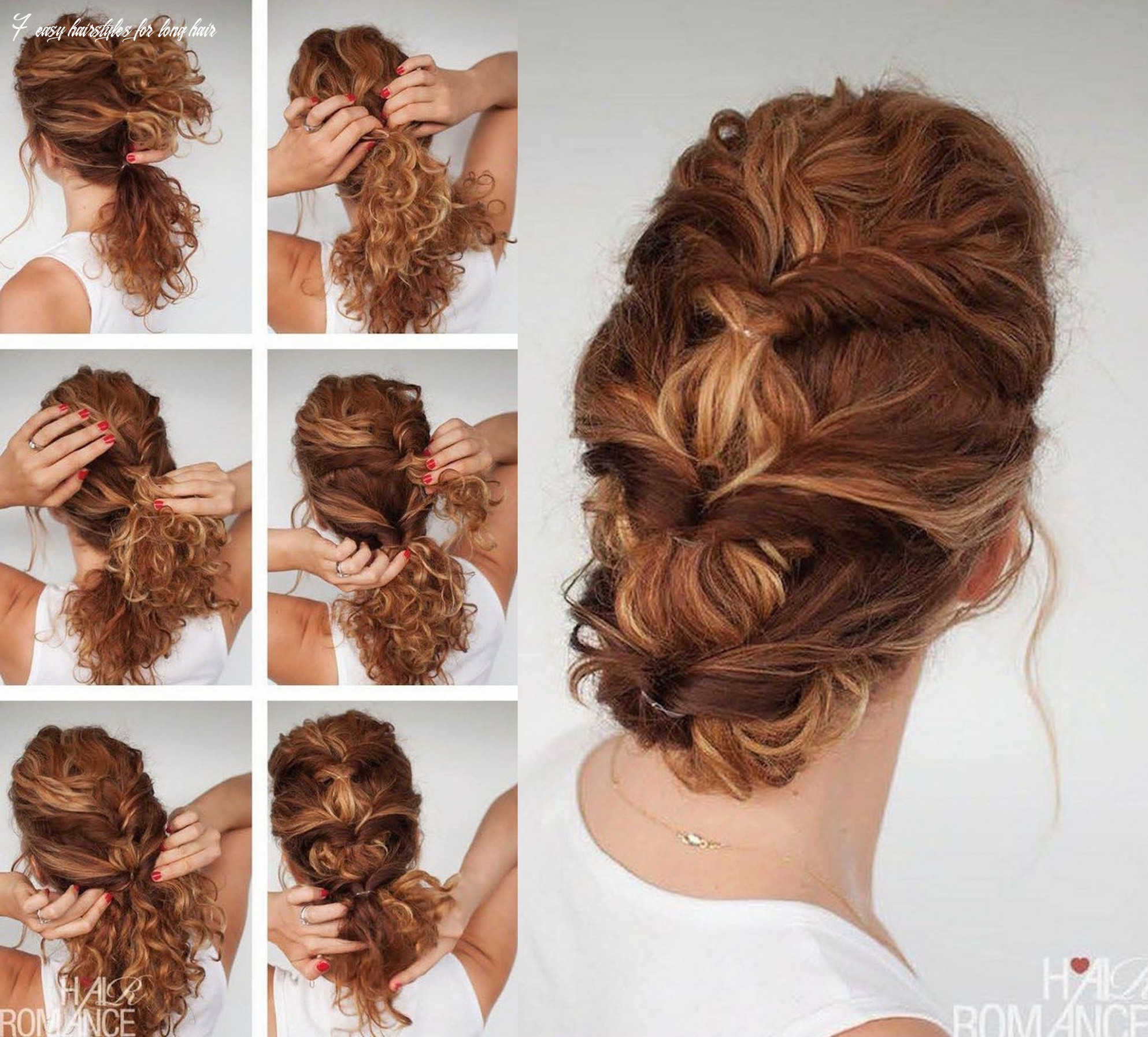 11 easy hairstyle tutorials for curly hair (with images) | curly