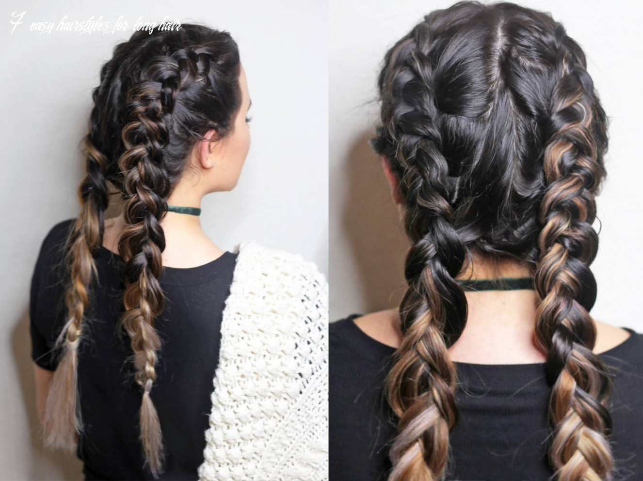 11 Easy Hairstyles for Long Hair | Beauty + Lifestyle | Mash Elle