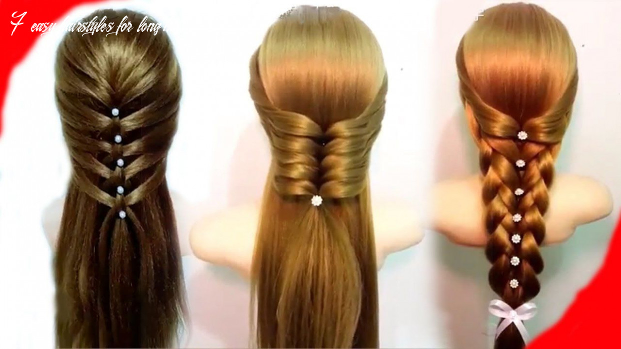 11 easy hairstyles for long hair 🌺 best hairstyles for girls