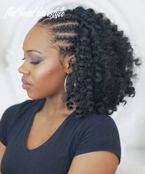 11 Flat Twist Hairstyles to Wind up Your Kink | All Women Hairstyles