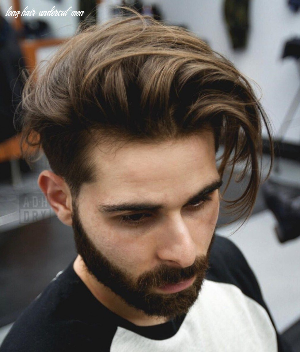 11 Funky Men's Undercut Hairstyles and Haircuts | Mens long hair ...