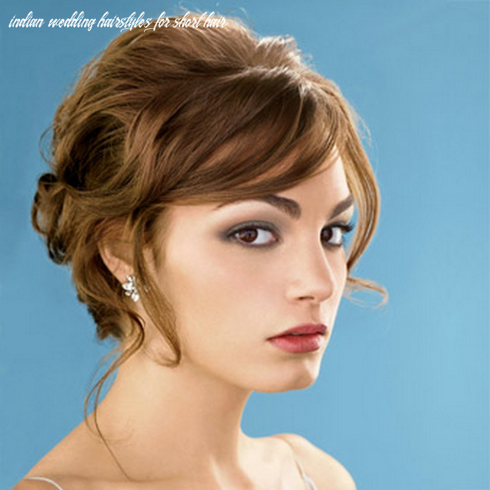 11 gorgeous indian wedding hairstyles for short hair | flickr indian wedding hairstyles for short hair