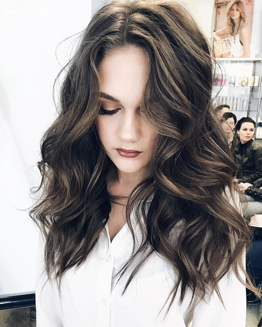 11 Gorgeous Long Wavy Perm Hairstyles, Long Hair Styles 11