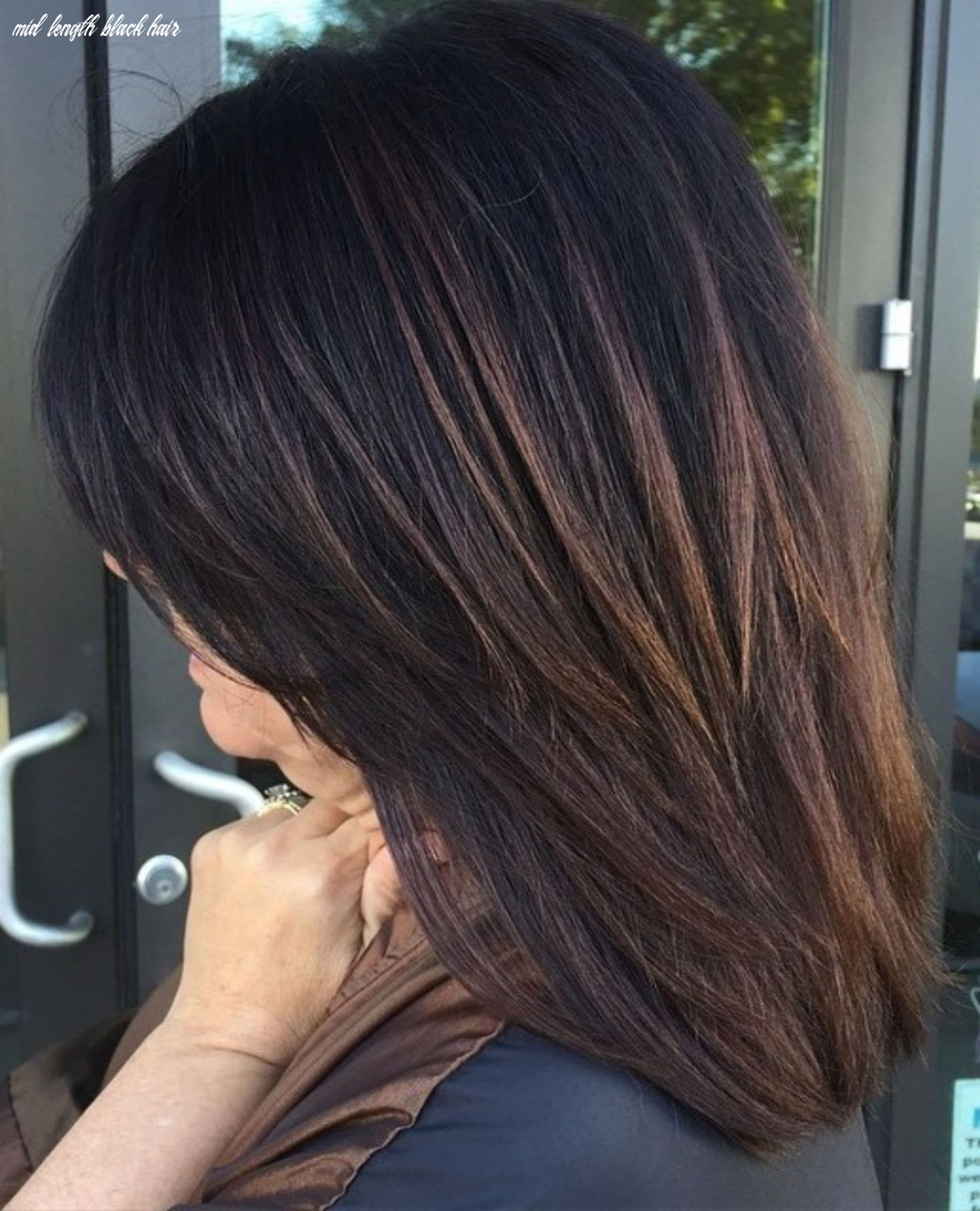 11 hairstyles featuring dark brown hair with highlights   brown