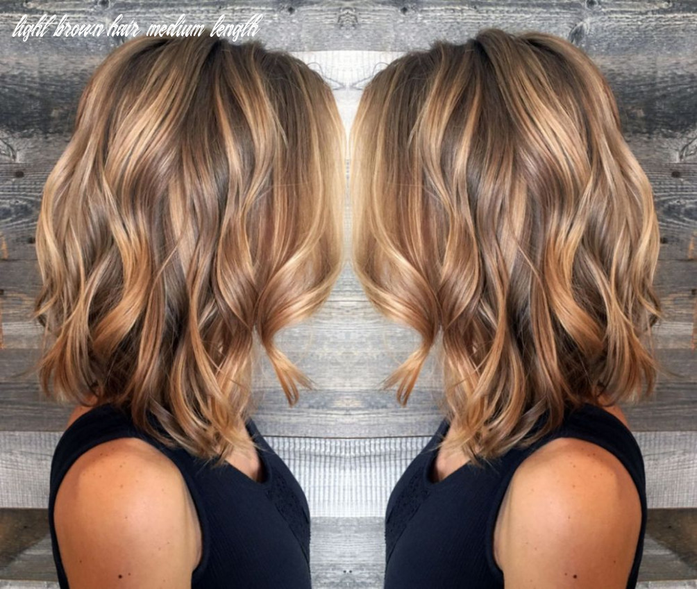 11 ideas for light brown hair with highlights and lowlights in
