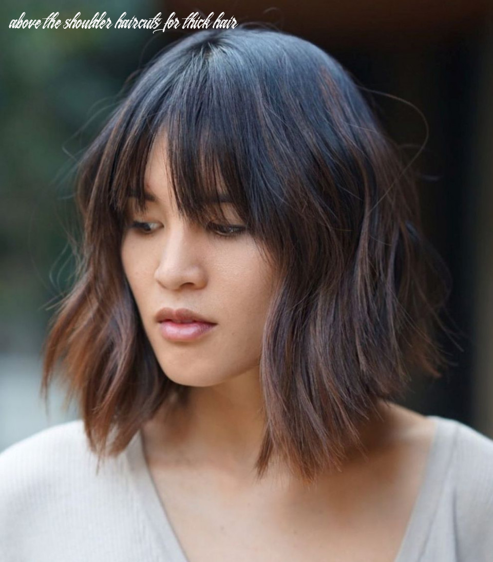 11 medium length hairstyles for thick hair ⋆ palau oceans above the shoulder haircuts for thick hair