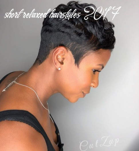 11 most captivating african american short hairstyles and haircuts short relaxed hairstyles 2017