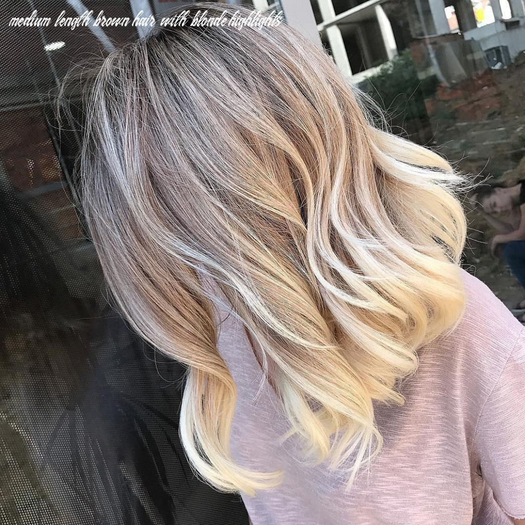 11 ombre balayage hairstyles for medium length hair, hair color 11 medium length brown hair with blonde highlights