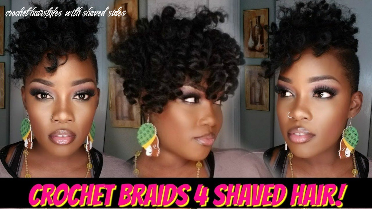 😍11 PACK CROCHET BRAID QUICKIE 11 SHAVED HAIR! | JAMAICAN BOUNCE