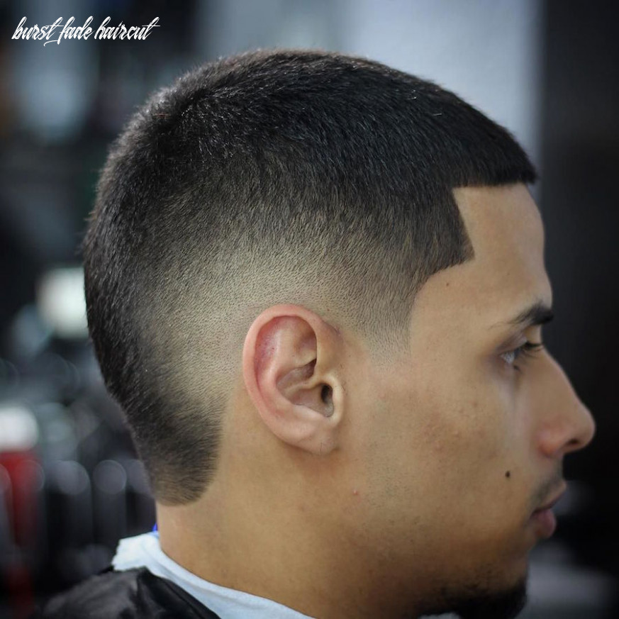 11 Popular Burst Fade Haircuts For Men in 11
