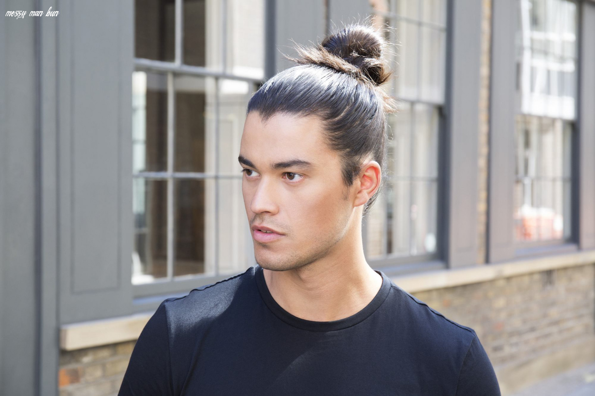11 quick and easy ways to tie a man bun at home   all things hair uk messy man bun