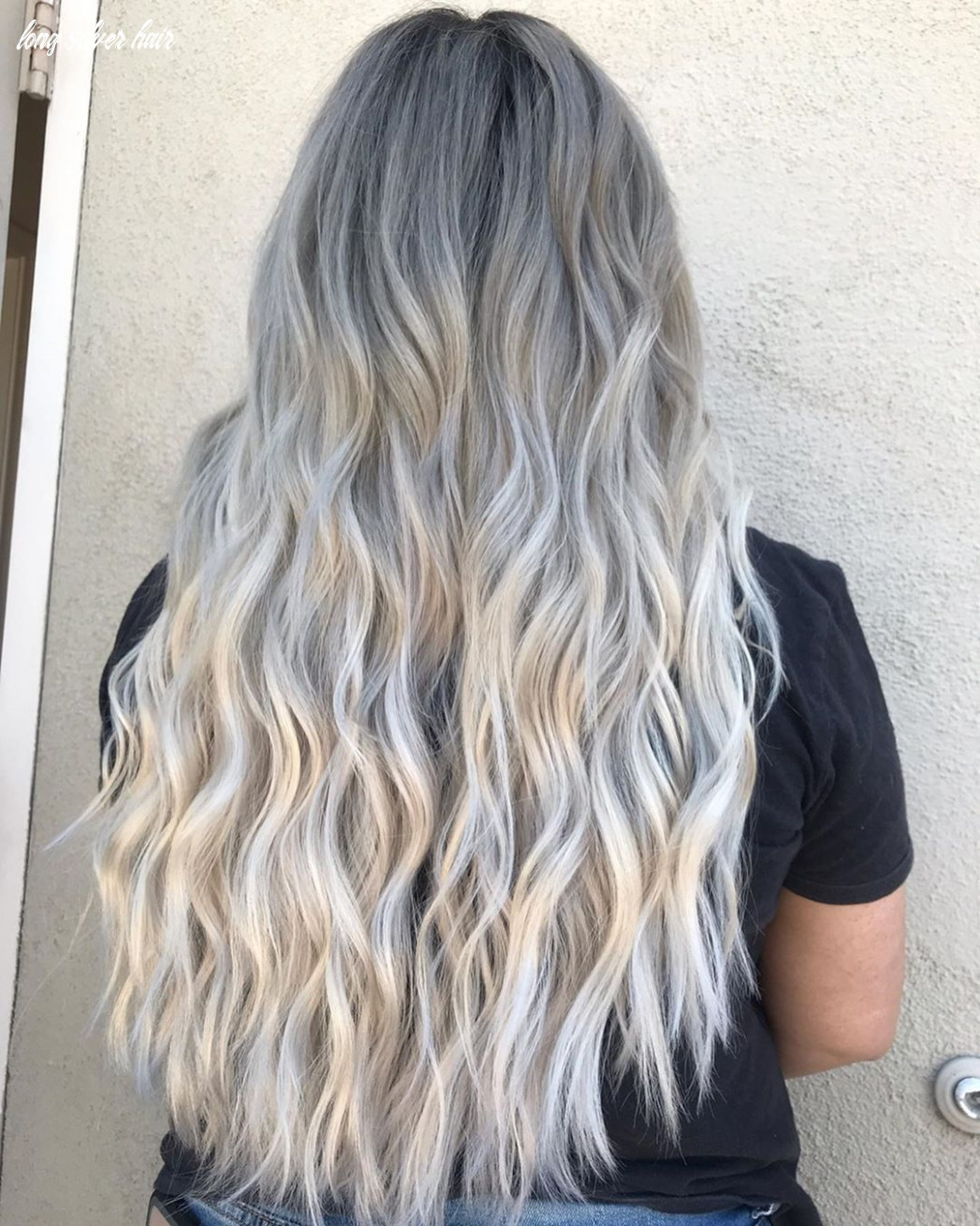 11 silver hair color ideas & 11 trends: highlights, styles and more long silver hair