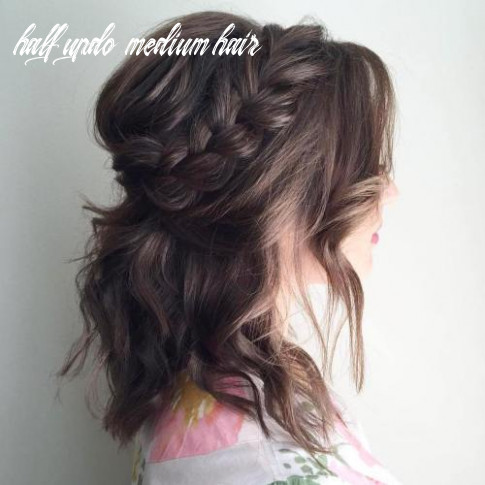 11 special occasion hairstyles – the right hairstyles half updo medium hair