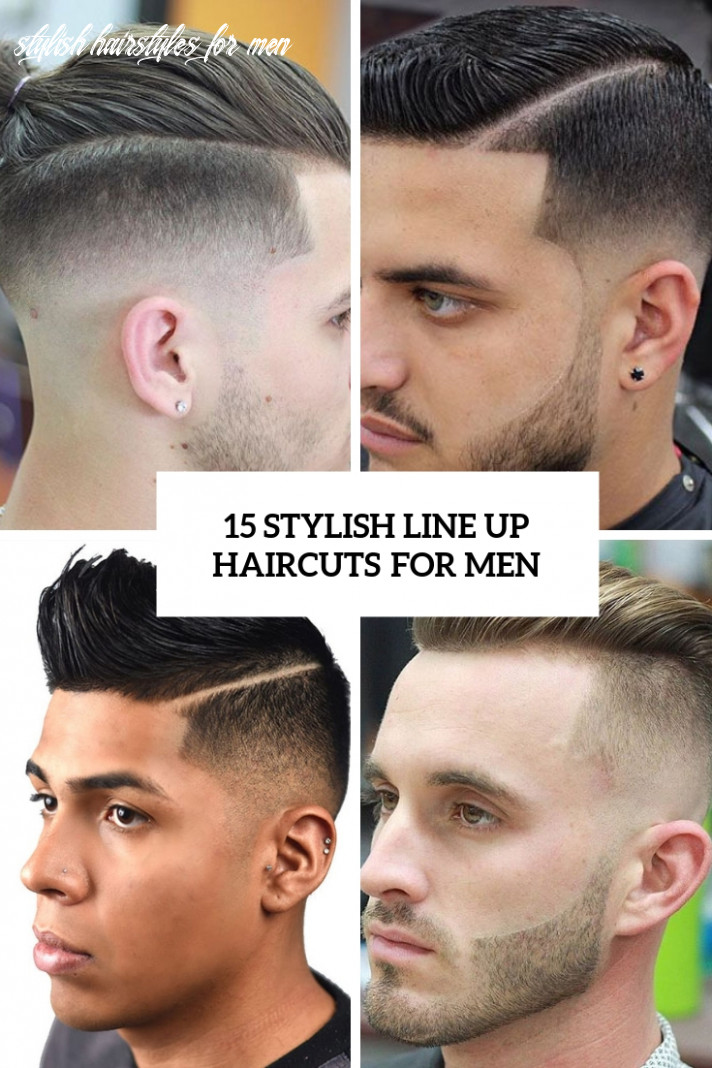 11 Stylish Line Up Haircuts For Men - Styleoholic