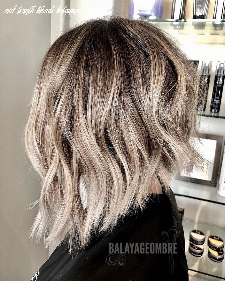 11 trendy ombre and balayage hairstyles for shoulder length hair 11 mid length blonde balayage