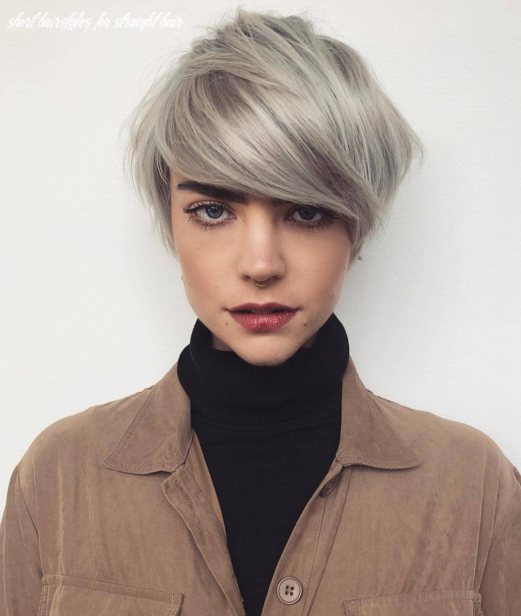 11 trendy short hairstyles for straight hair pixie haircut for